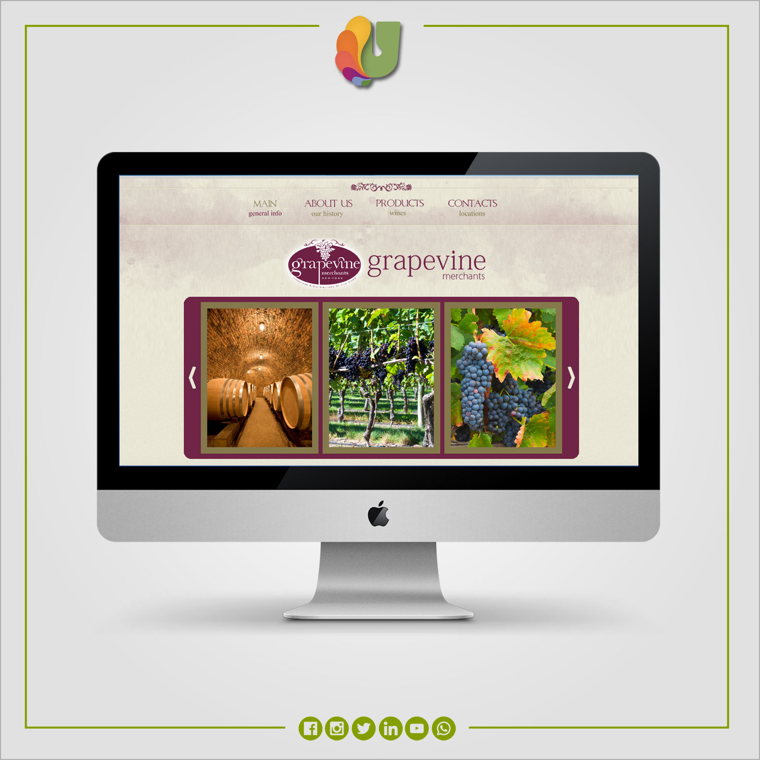 Grapevine / Website