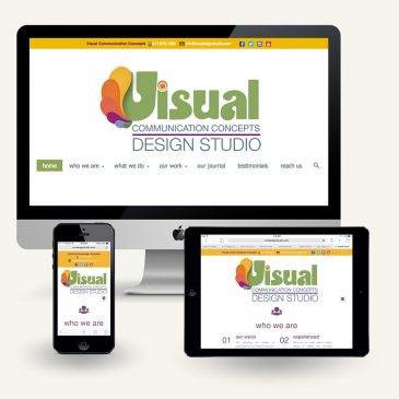 Welcome to Our New Visual Communication Concepts Website!