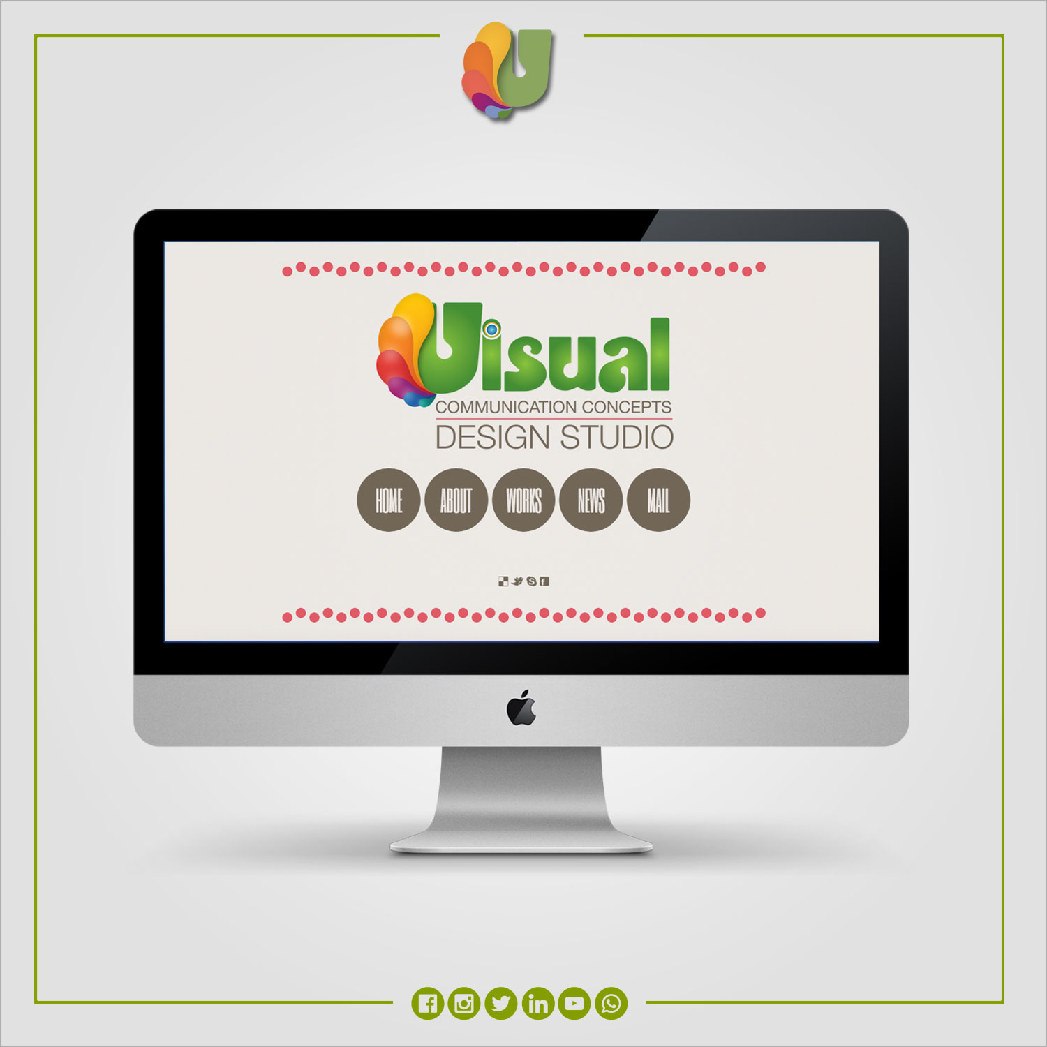 Visual Communication Concepts / Website